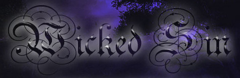 Wicked Sin Studios Name Plate A